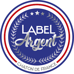 SNPCC : Label Chaton Argent